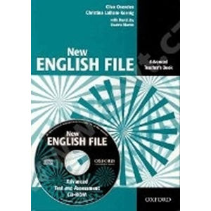 New English File Advanced Teacher´s Book + Tests Resource CD-ROM - Clive Oxenden