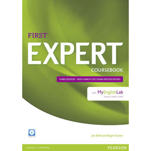 Expert First 3rd Edition Coursebook w/ Audio CD/MyEnglishLab Pack - Jan Bell