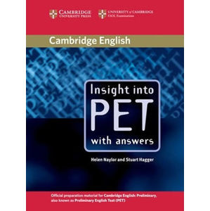 Insight into PET: Student´s Book with answers