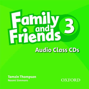 Family and Friends 3 Class Audio CDs /3/