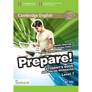 Prepare Level 7 Student´s Book and Online Workbook with Testbank