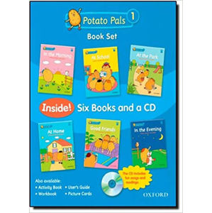 Potato Pals 1 Book + Audio CD Pack