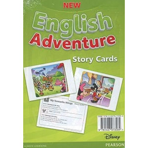 New English Adventure 1 Storycards - Anne Worrall