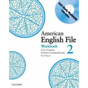 American English File 2 Workbook with CD-ROM Pack