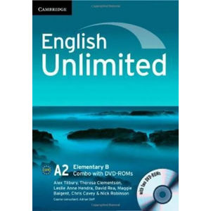 English Unlimited Elementary B Combo with DVD-ROMs (2) - Alex Tilbury