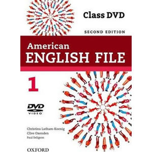 American English File 1 DVD (2nd)