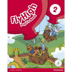 Fly High 2 Pupil´s Book w/ CD Pack - Jeanne Perrett