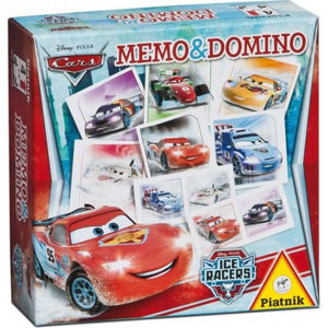 Pexeso a Domino - Cars Ice Racers