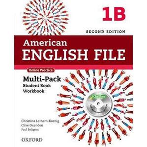American English File 1 Multipack B with Online Practice and iChecker (2nd)