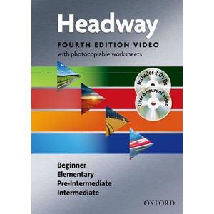 New Headway Beginner Intermediate Video with Photocopiable Worksheets (4th)