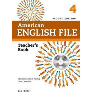American English File 4 Teacher´s Book with Testing Program CD-ROM (2nd)