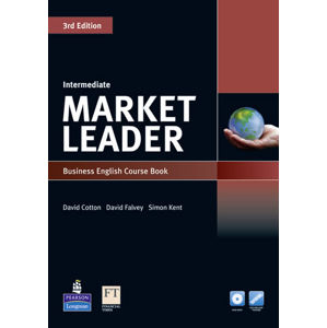 Market Leader 3rd Edition Intermediate Coursebook w/ DVD-ROM/ MyEnglishLab Pack - David Cotton
