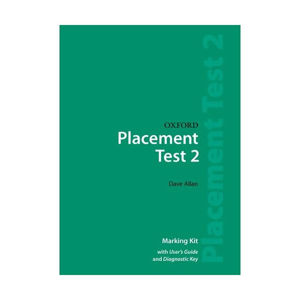 Oxford Placement Test 2 Marking Kit