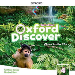 Oxford Discover 4 Class Audio CDs /3/ (2nd)
