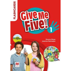 Give Me Five! Level 1 - Flashcards - Donna Shaw