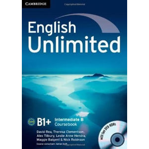 English Unlimited Intermediate B Combo with DVD-ROMs
