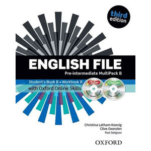 English File Pre-intermediate Multipack B with iTutor DVD-ROM and Oxford Online Skills (3rd)
