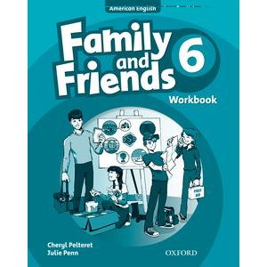 Family and Friends American English 6 Workbook