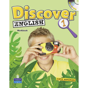 Discover English Global 1 Activity Book w/ Students´ CD-ROM Pack - Kate Wakeman