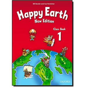 Happy Earth 1 Class Book (New Edition)