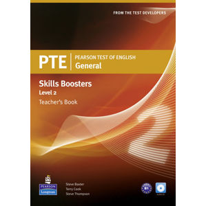 Pearson Test of English General Skills Booster 2 Teacher´s Book w/ CD Pack