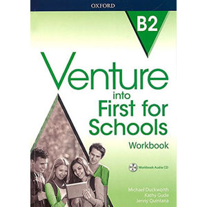 Venture into First for Schools Workbook Without Key Pack