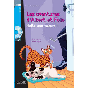 LFF A1: Albert et Folio: Halte aux voleurs ! + CD Audio