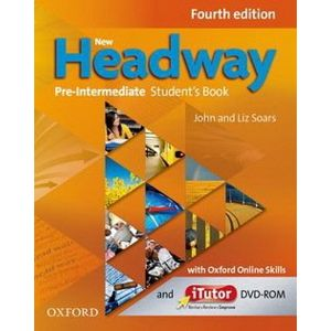 New Headway Pre-intermediate Student´s Book with Online Skills (4th)